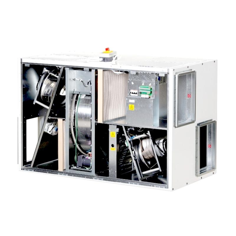 вентиляционная установка komfovent verso r 2000 h/v/u