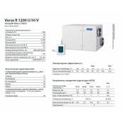 вентиляционная установка komfovent verso r 1200 h/v/u