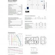 вентиляционная установка komfovent verso p 4000 h